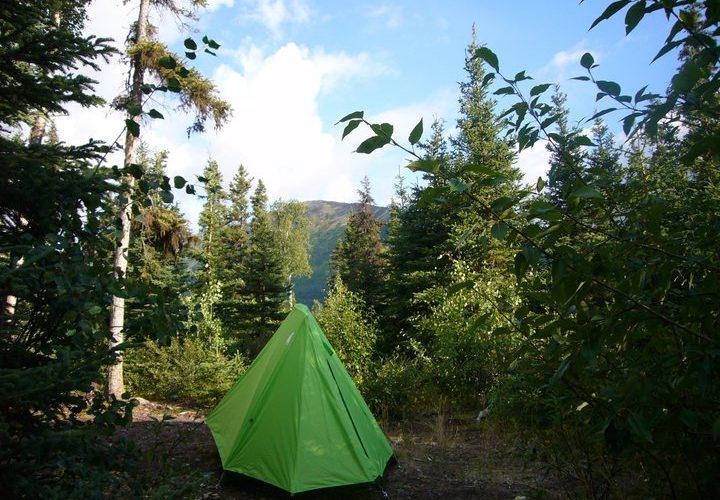キャンプでの調理はテントから200メートル以上離れた場所で行い、食糧やその匂いがついたものはテント近くには持ち込まないのが基本。