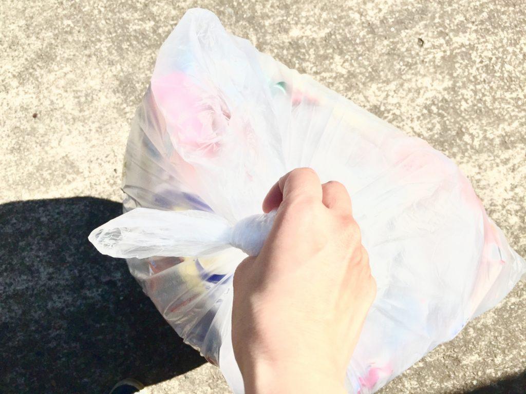 予想以上にゴミが出ることもゴミ袋はバーベキューに多めに持っていきましょう!